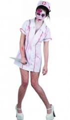 Killer Zombie Nurse Costume (HF5056)